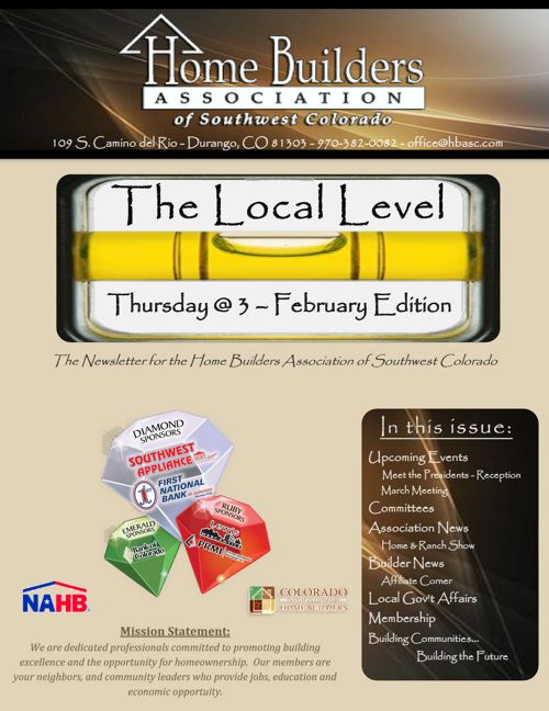 Local Level ~ Thursday @ 3 - February Edition