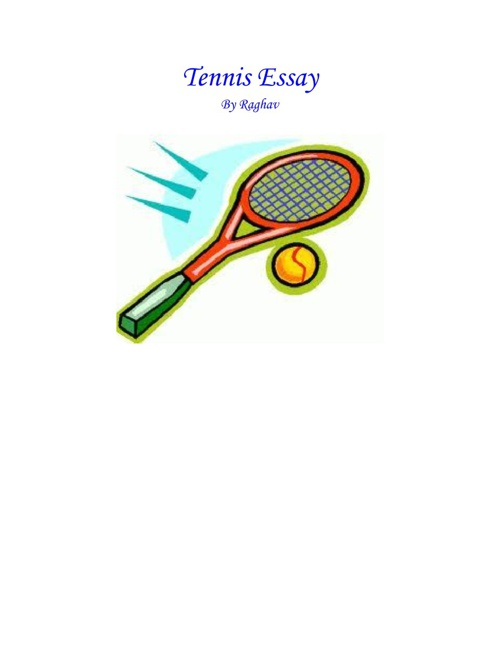 All About Tennis