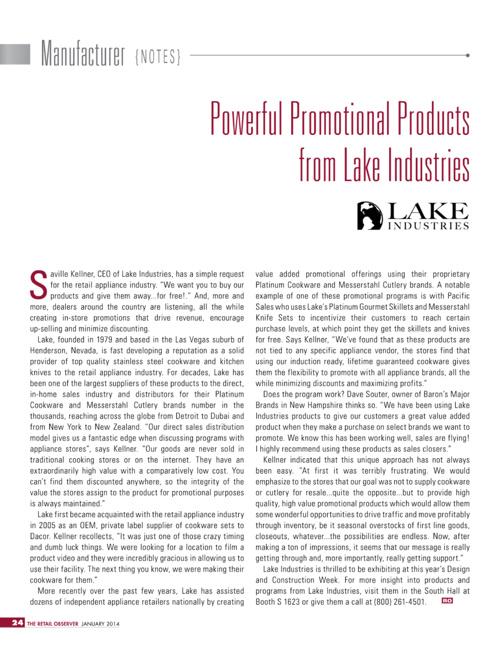 Lake Industries Catalog 2015 (PL)