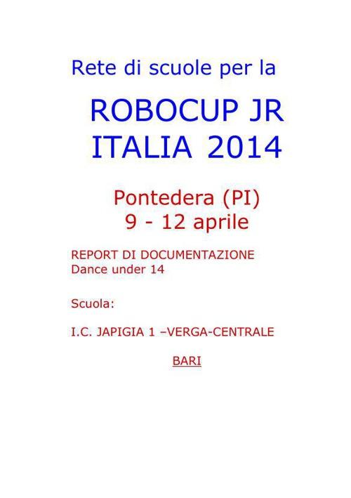 report 2014 IANNOLA