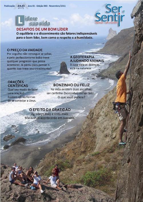 Revista Ser e Sentir - Edição Nº 3 - Novembro 2011