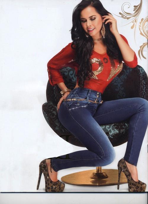 Jeans Dama Realce Perfecto Control Abdomen Parte 2