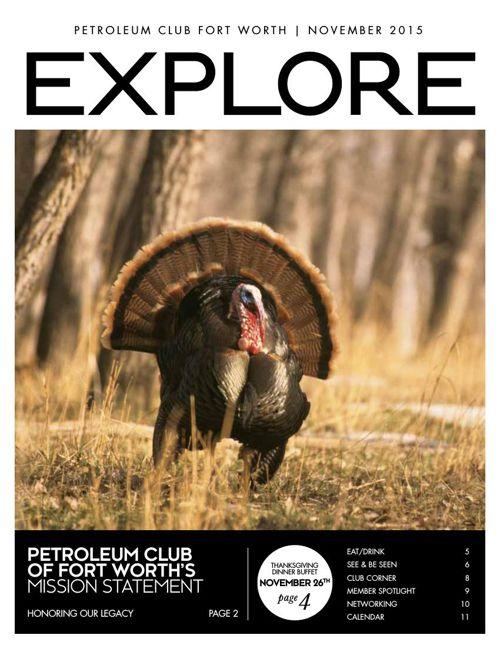 November 2015 Newsletter