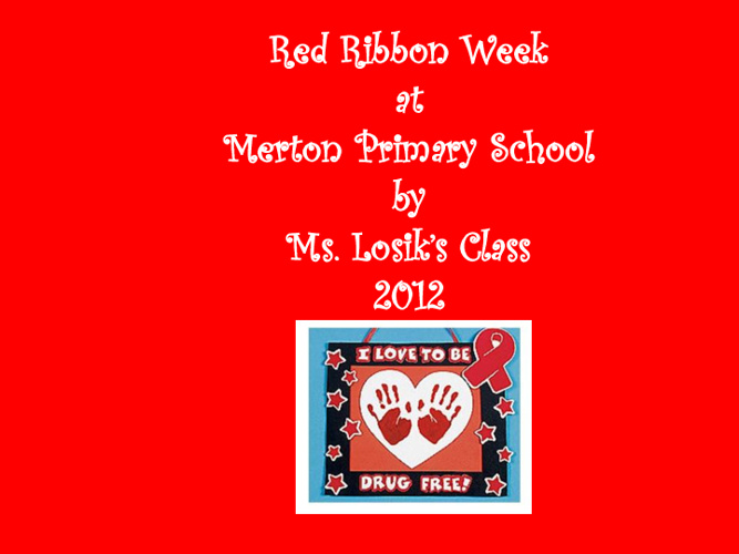 Losik Red Ribbon Week 2012