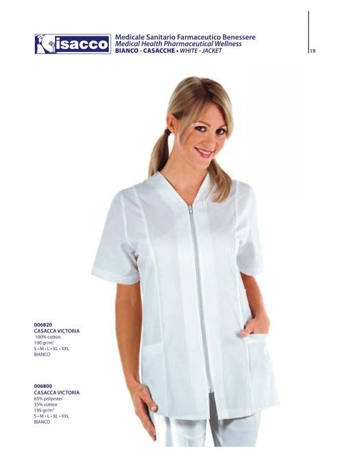 Catalogo Abbigliamento Sanitario Casacche 2