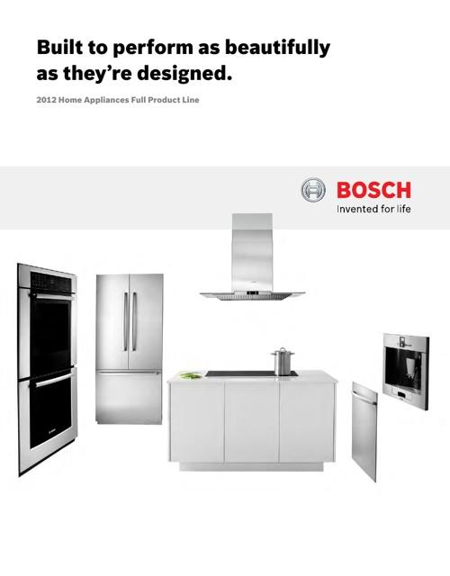 2012 Bosch Fullline