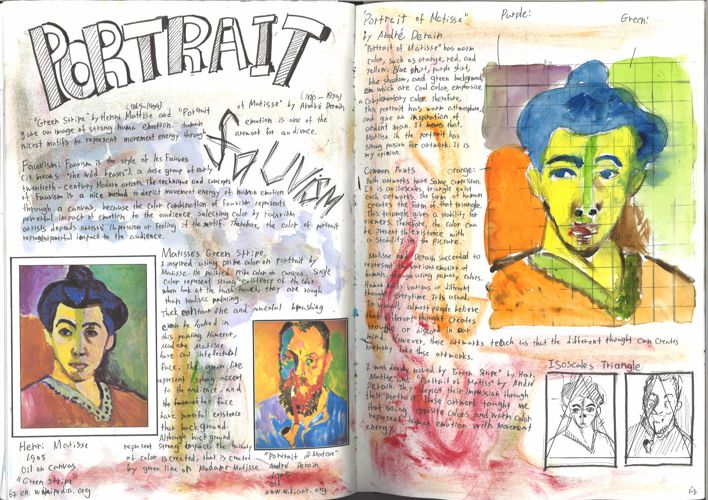 Art Workbook 5