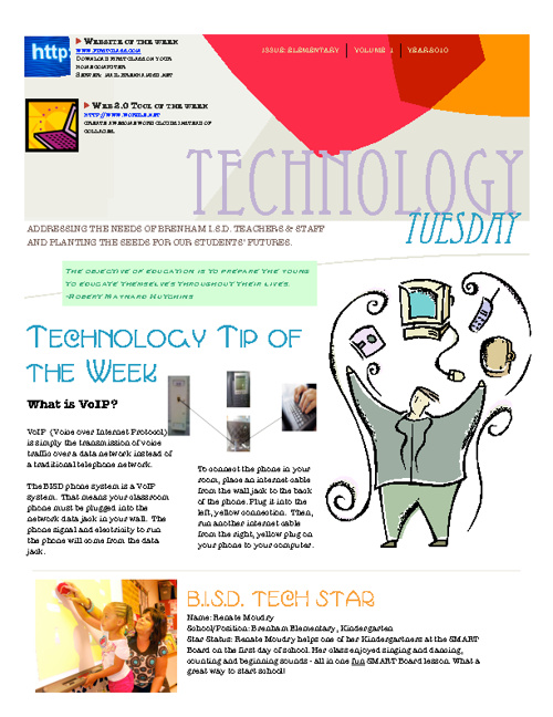 Technology Tuesday 2011-2012