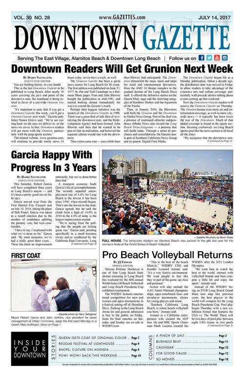Downtown Gazette  |  July 14, 2017