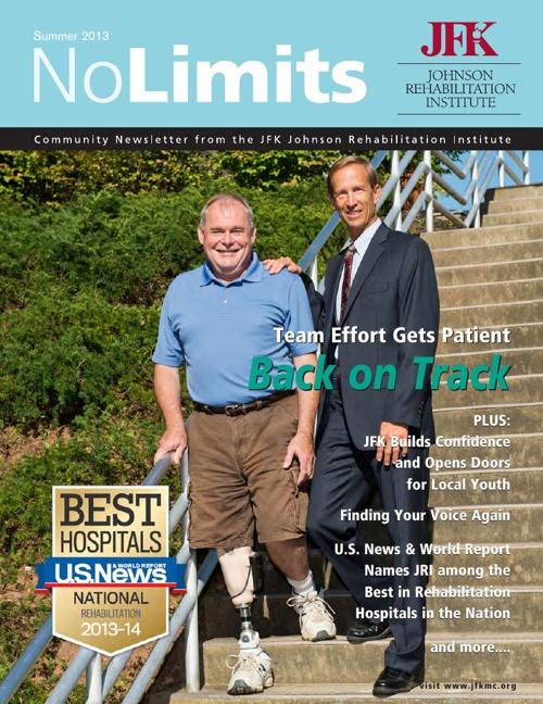 No Limits Newsletter Summer 2013