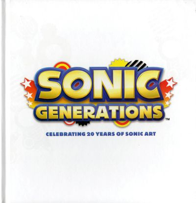 Sonic Generations Artwork Book