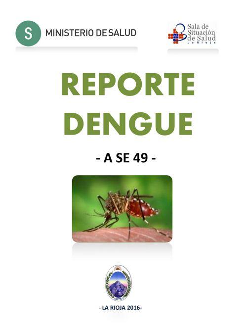 REPORTE DENGUE 2016_larioja