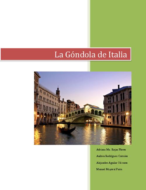 La Góndola de Italia