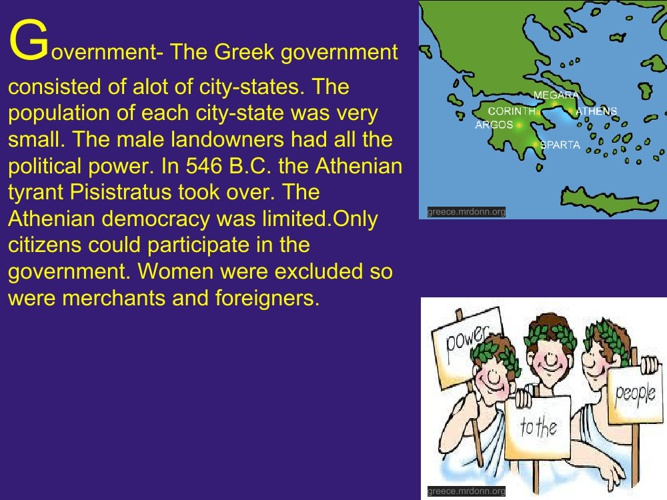 Greece was GREATLY appreciated.