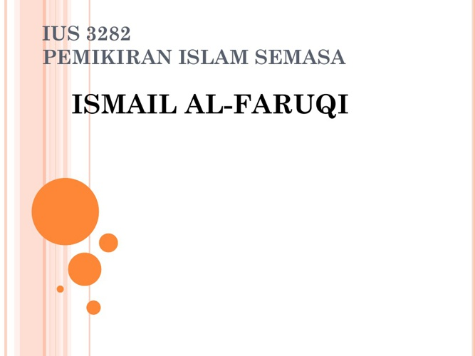 Ismail Al-Faruqi