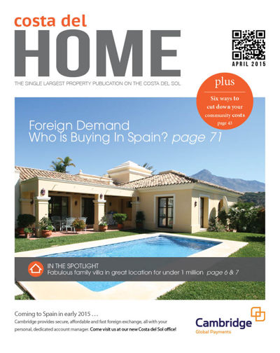 Costa del Home April 2015
