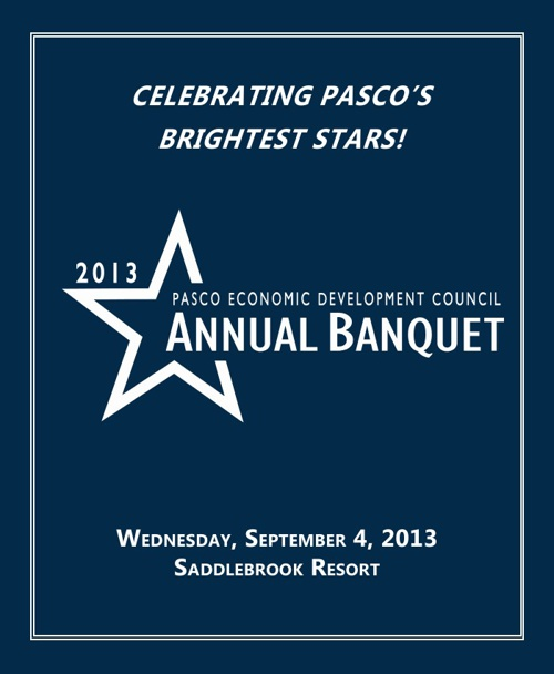 Pasco EDC 27th Annual Banquet Program