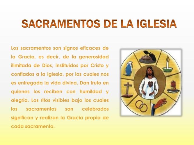 Sacramentos de la Iglesia