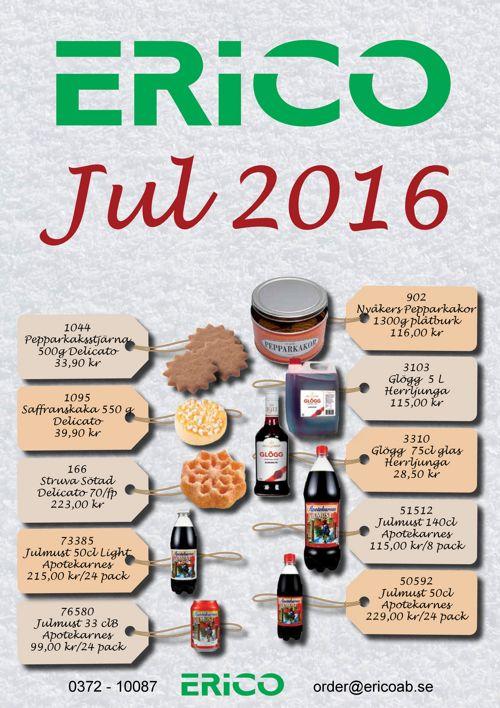 JUL 2016 Godis&Choklad