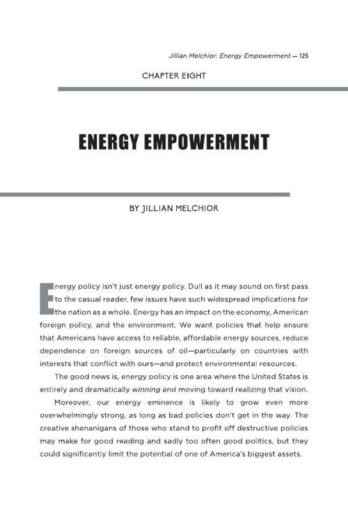 Chapter Eight - Energy Empowerment