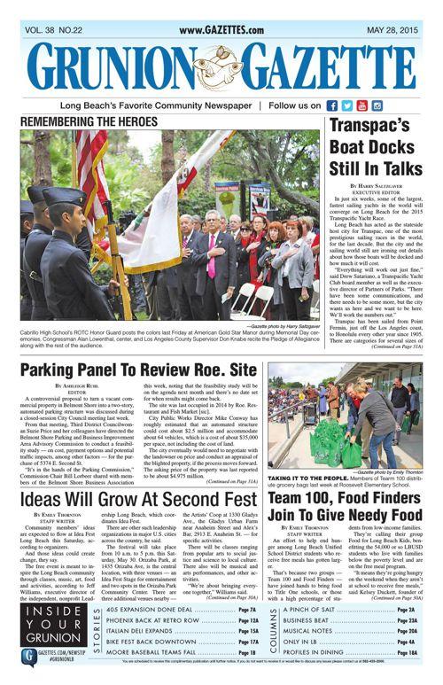 Grunion Gazette | May 28, 2015