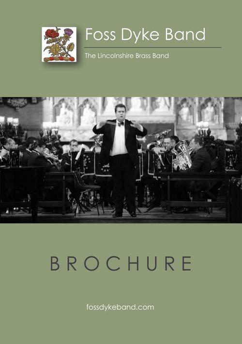 Foss Dyke Band Brochure