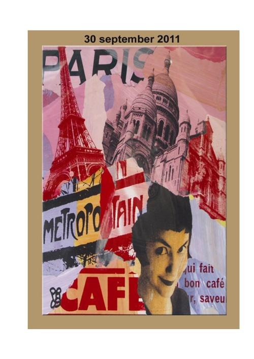Werkboekje Parijs - dag 3: 30 september 2011