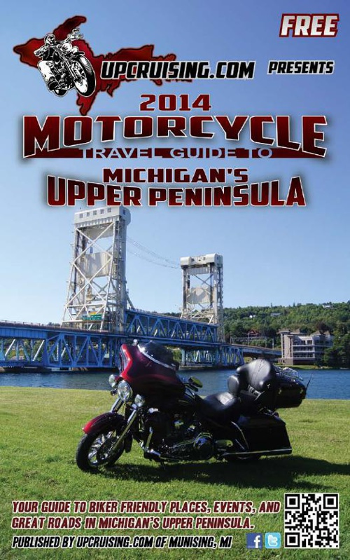 2014 Motorcycle Guide to the U.P. of Michigan