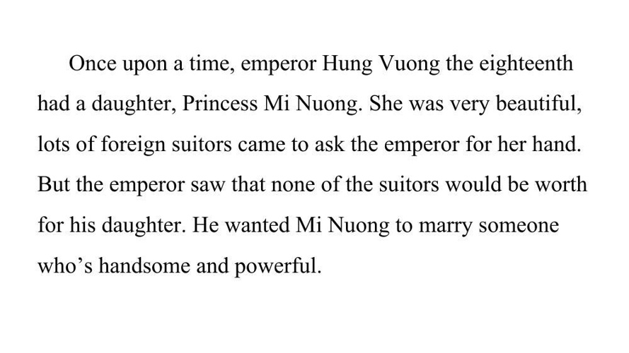 Minh Long - Vietnam Folktale