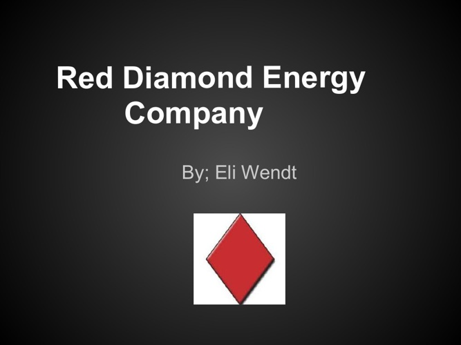 Red Diamond project