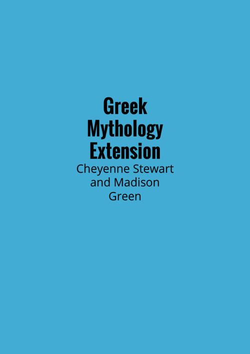 Greek Mythology Extension