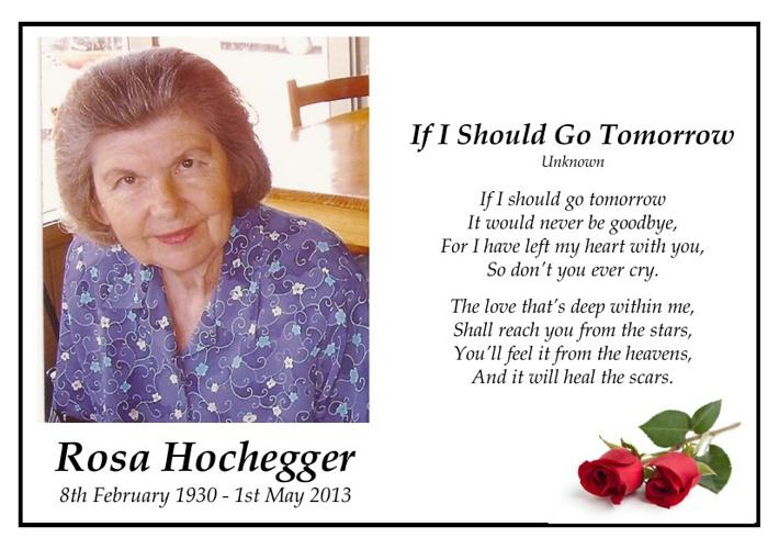 Rosa Hochegger