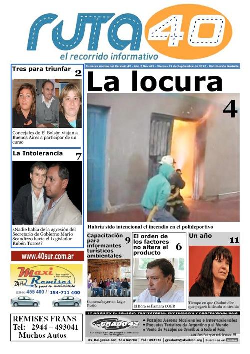 Diario Viernes 21 de Septiembre