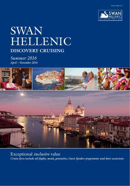 Swan Hellenic Summer 2016 Brochure