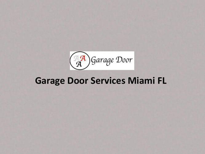 Garage Door Services Miami FL