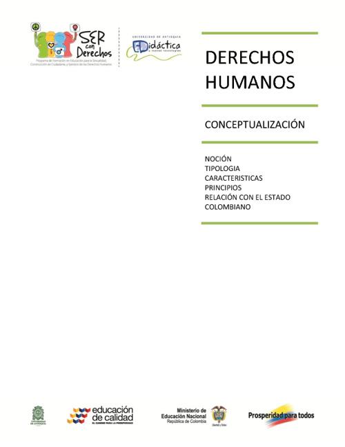 DDHH conceptualización