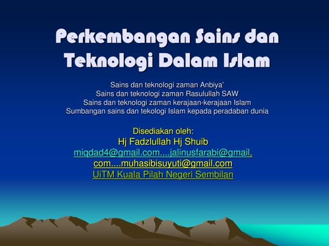 Nota Tam AA 209-Perkembangan-sains-dan-teknologi-dalam-islam-1