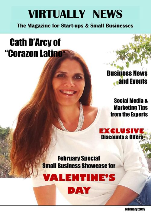 """Virtually News"" Small Business Magazine [February 2015]"