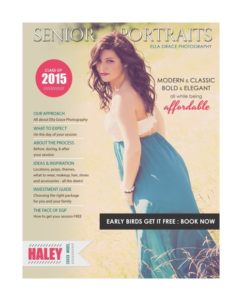 Ella Grace Photography | Senior Portrait Guide | 2015 Edition