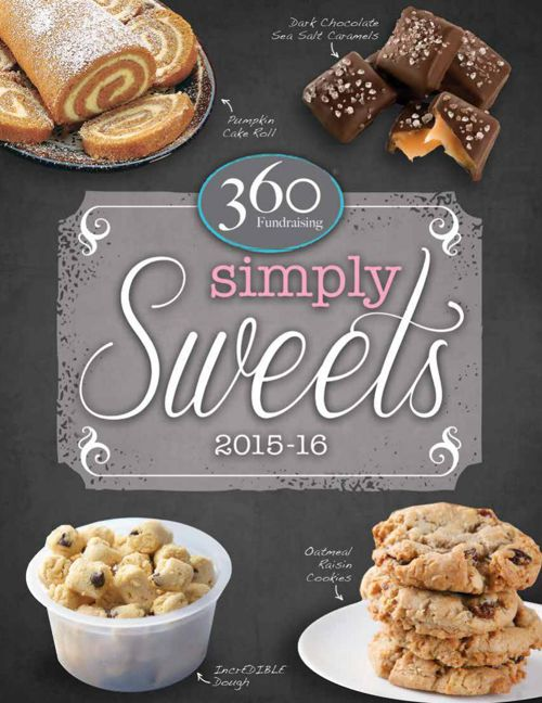 360 Fundraising Simply Sweets Catalog