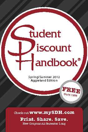 Texas A&M Blinn - Student Discount Handbook - Spring 2012