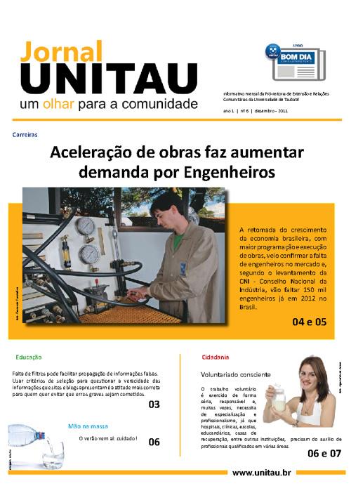Jornal UNITAU - 6ª Edição