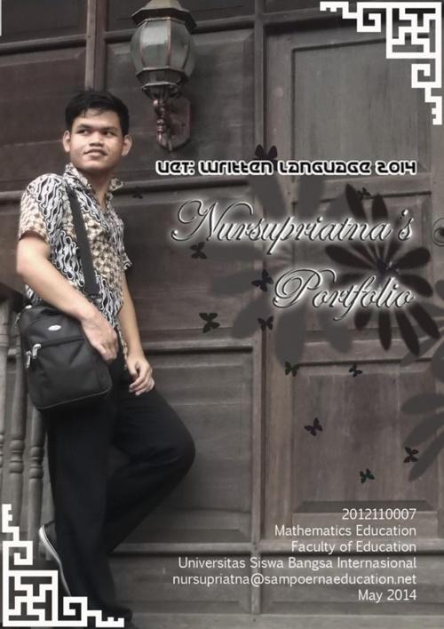 Nursupriatna's UET Portfolio