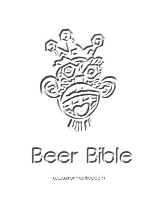 Iron Monkey Beer Menu 9-8-16