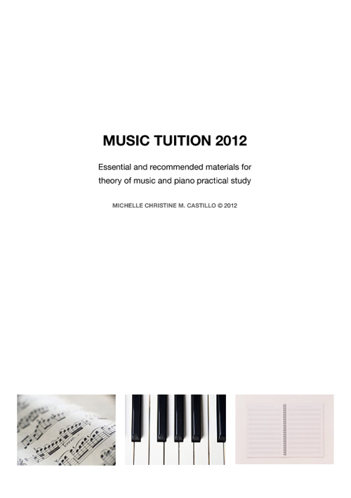 MUSIC TUITION 2012