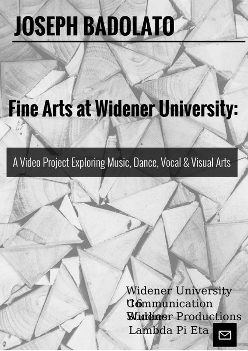 Fine Arts Video Project