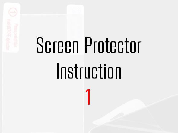 Cellet Screen Protector Instruction