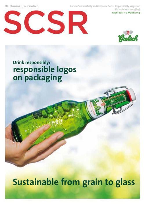 Grolsch SCSR Magazine 2014