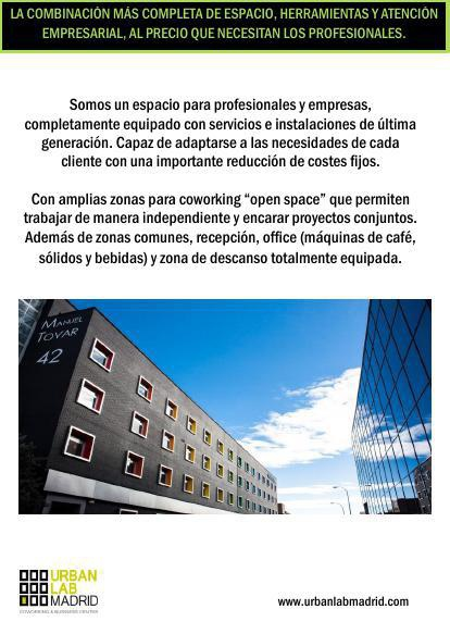 Dossier Urban Lab Madrid (ESPAÑOL/INGLES)