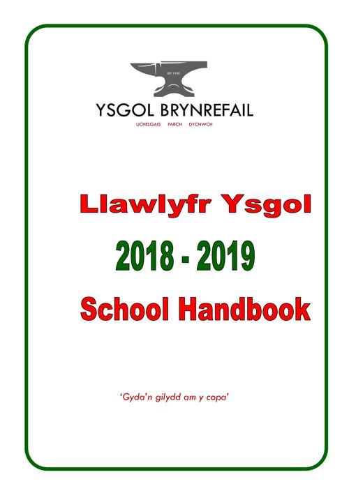 Llawlyfr-Handbook 2018-2019